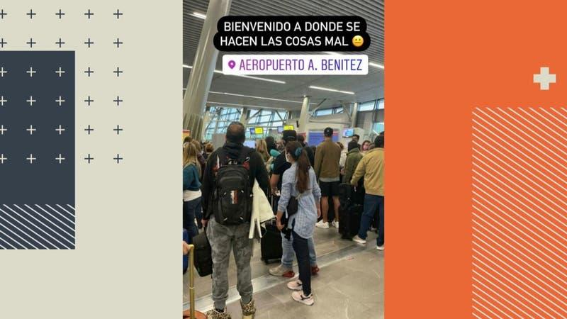 Hasta 4 horas de espera para ingresar a Chile: Denuncian aglomeraciones en el aeropuerto