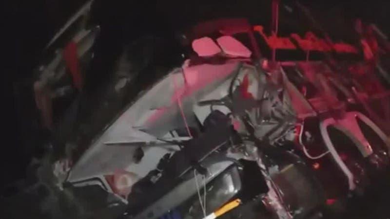 [VIDEO] Al menos 15 lesionados en accidente múltiple en Teno