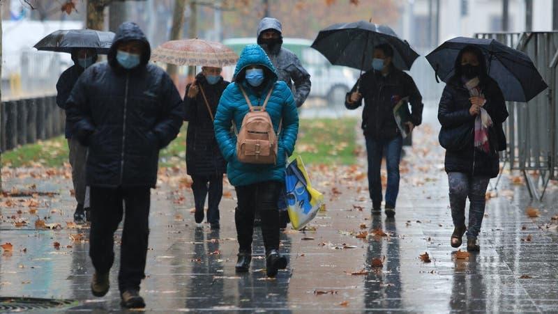 Onemi anticipa cuándo se registrarán las lluvias más intensas en la Región Metropolitana
