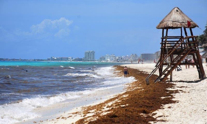 Huracán Grace toca tierra en Caribe mexicano y desata lluvias