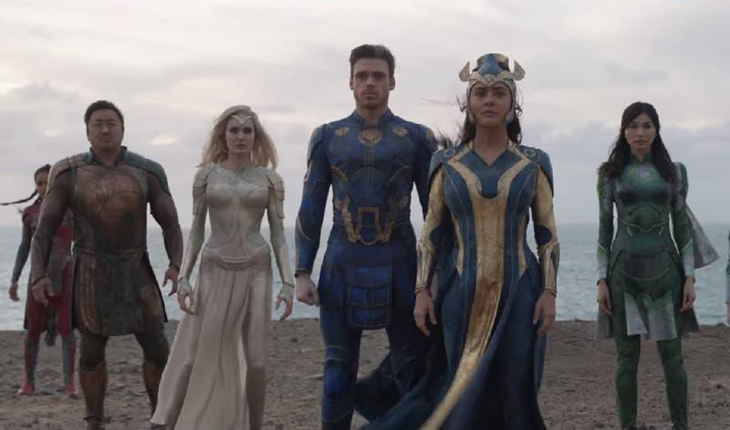"""""""Eternals"""": espectacular tráiler final revela la razón por la que no lucharon contra Thanos"""