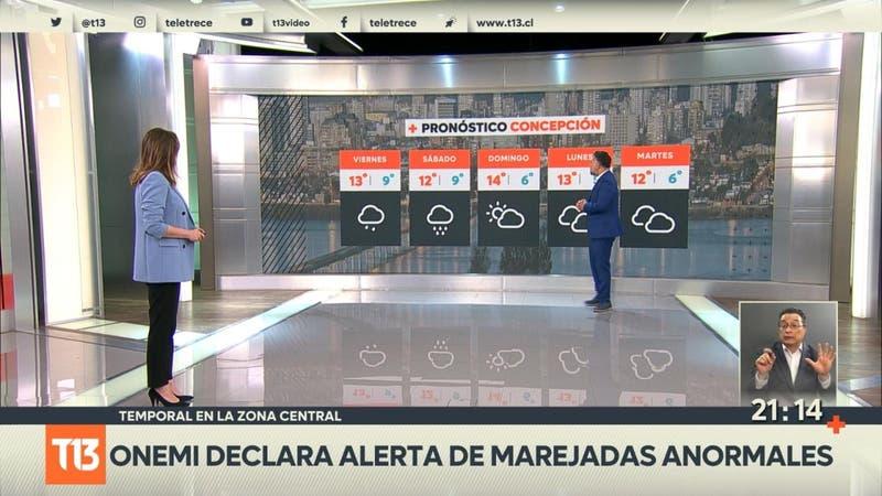 Temporal en la zona central: ¿Seguirá lloviendo en la región Metropolitana?
