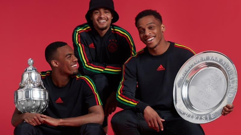Verde, amarillo y rojo: la llamativa camiseta rasta del Ajax y la razón que hay detrás