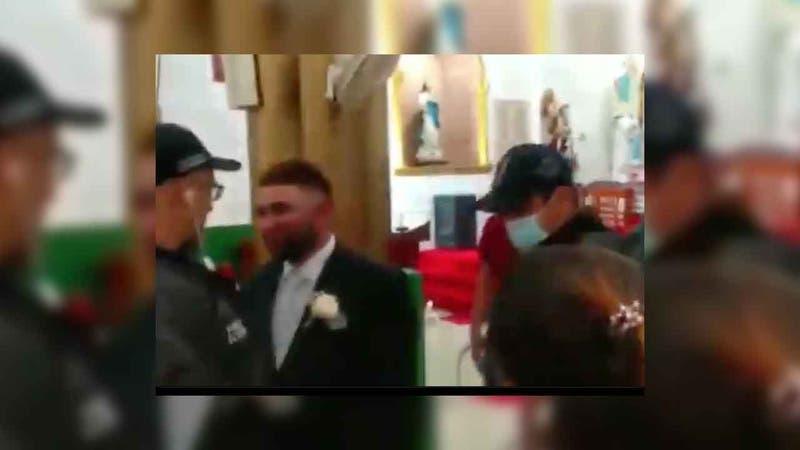 """Capturan a """"Machete"""", importante narco en medio de su boda"""