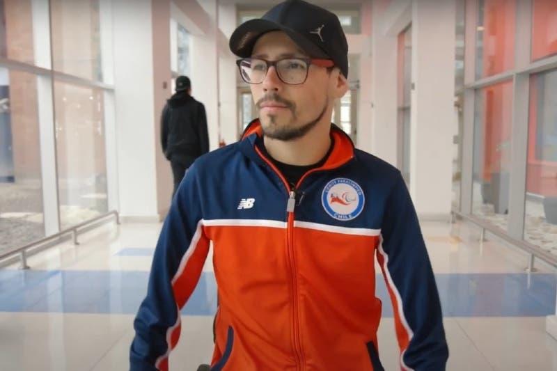 """Alberto Abarza, abanderado de Chile en Paralímpicos: """"Queremos estar dentro de los primeros tres"""""""