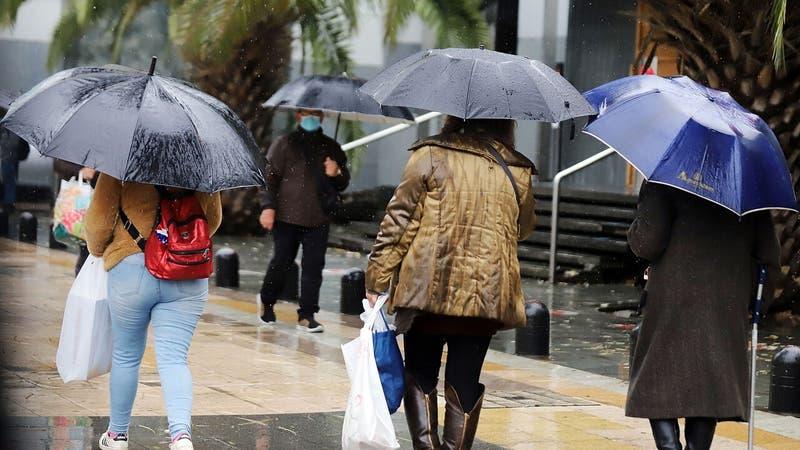 Precipitaciones en la Región Metropolitana: Revisa cuándo lloverá en la capital