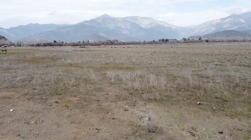 Antes y después: Las tristes imágenes de la actual Laguna de Aculeo sin agua