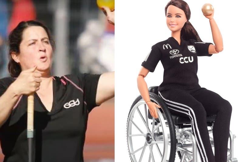 Primera mujer chilena: abanderada en Juegos Paralímpicos Fran Mardones tiene su propia muñeca Barbie