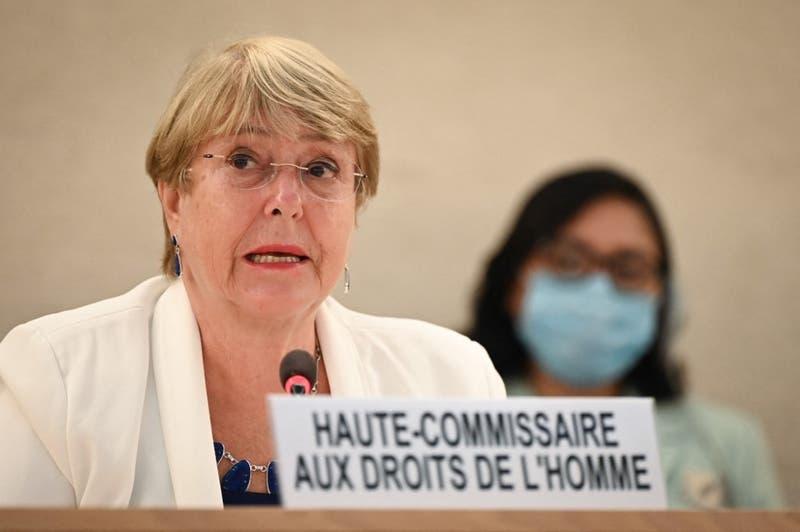 """Bachelet denuncia """"intimidación y criminalización"""" de activistas en Venezuela"""