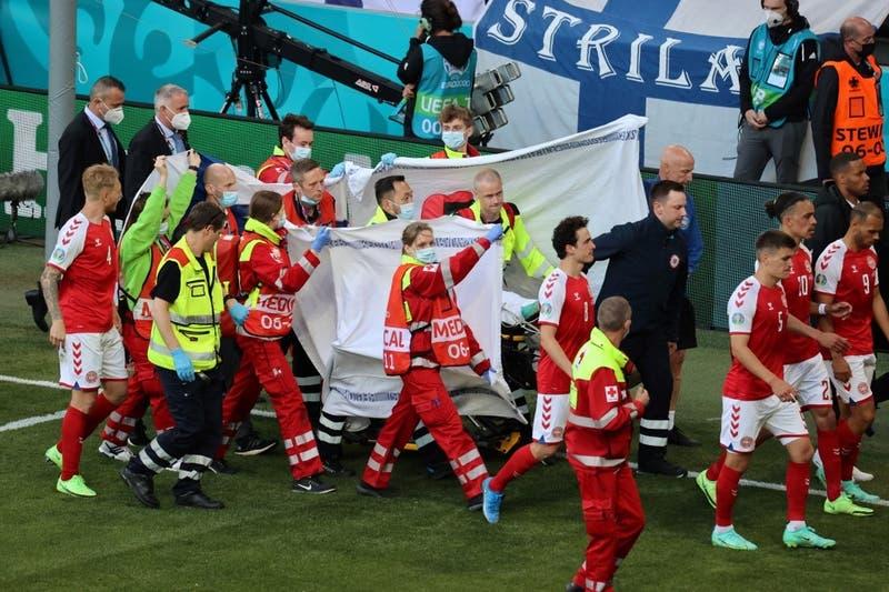 """""""Los verdaderos héroes de la Eurocopa"""": UEFA premia a personas que auxiliaron a Christian Eriksen"""