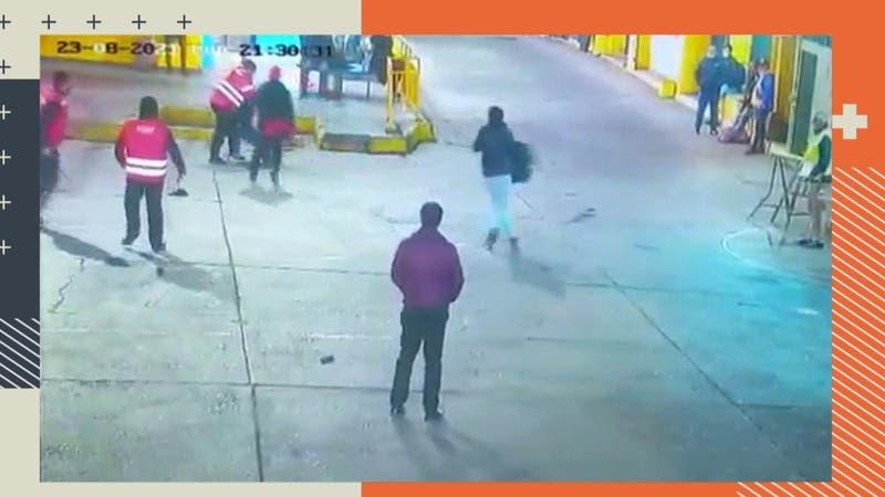 Guardia atacado por exigir uso de mascarilla en terminal de buses puede quedar ciego