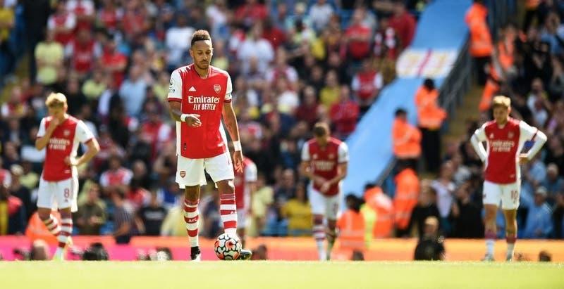 El Arsenal en su peor momento: Perdió 5-0 con el City, es colista y no ha marcado goles