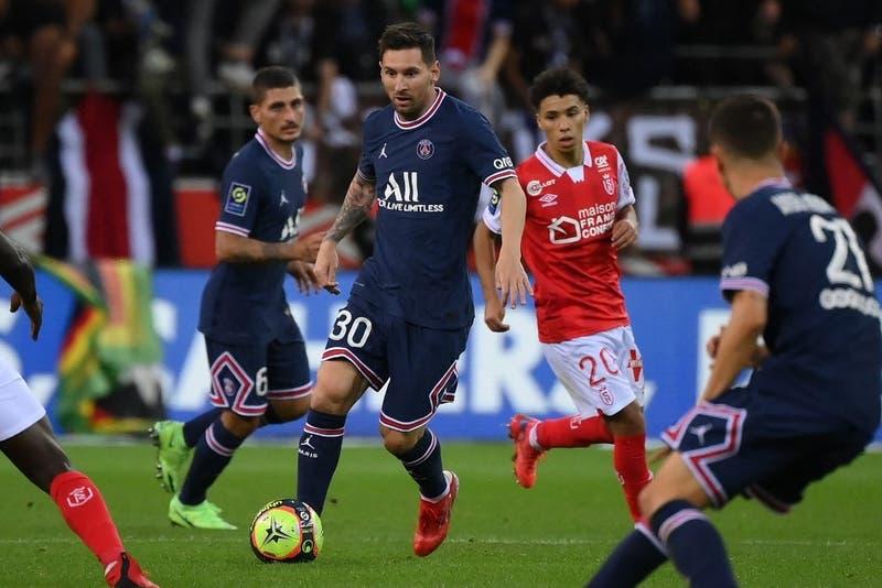 Messi debutó en el PSG con triunfo pero la figura fue Mbappé
