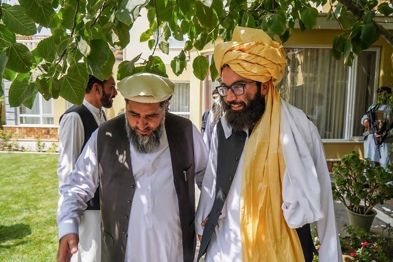 """""""Hemos hecho historia"""": dice alto dirigente talibán tras salida de tropas de EEUU"""