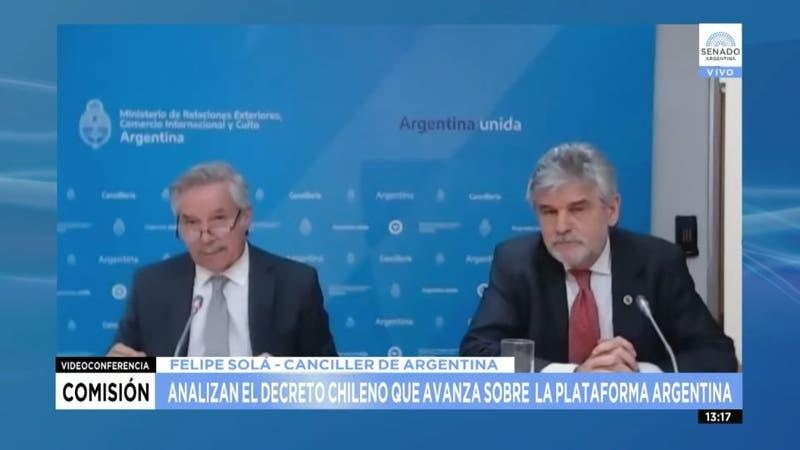 Plataforma continental: Cancillería argentina acusa a Chile de contradecir tratado de 1984