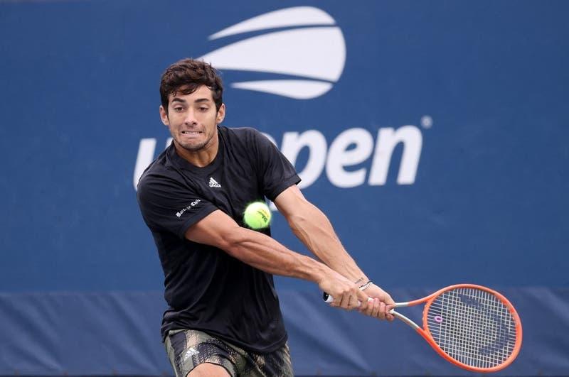 Cristian Garín no puede ante Henri Laaksonen y se despide en la segunda ronda del US Open