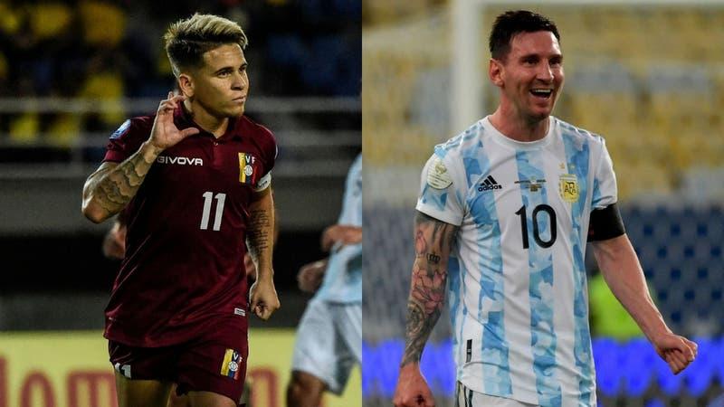 """""""Soteldo es más que Messi"""": El insólito comentario de un relator venezolano que se volvió viral"""