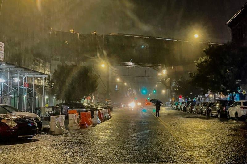 Nueva York declara estado de emergencia por tormenta Ida