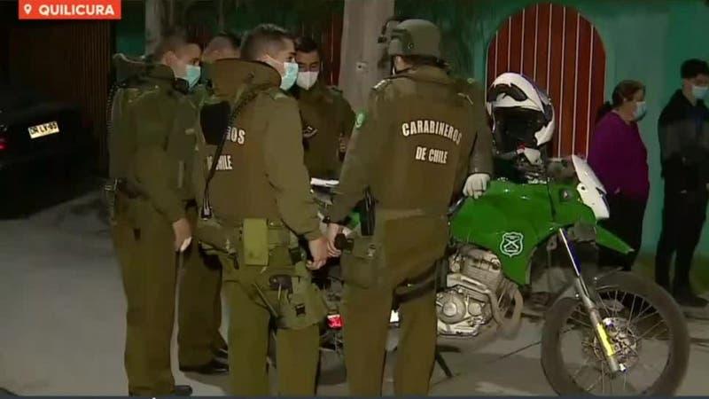 Dos detenidos tras negarse a control policial y atropellar dos carabineros en Quilicura