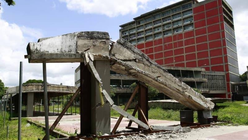 El lamentable deterioro de la Ciudad Universitaria de Caracas, joya arquitectónica