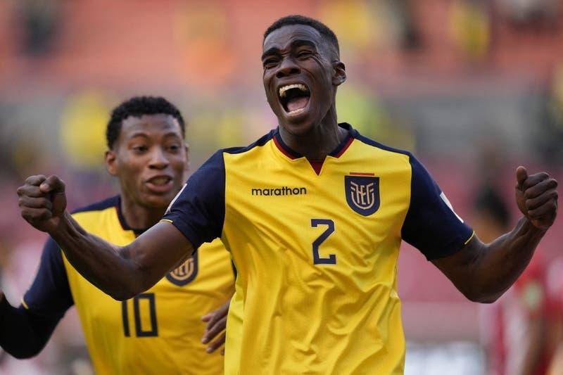 Ecuador logra agónica victoria sobre Paraguay y se afirma en la parte alta de las Clasificatorias