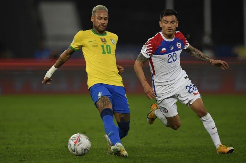 Con Neymar a la cabeza: el once confirmado de Brasil para enfrentar a Chile por Clasificatorias