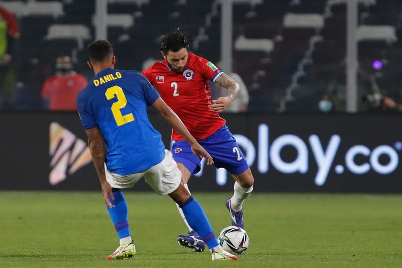 La nueva camiseta que La Roja estrenó ante Brasil en Clasificatorias