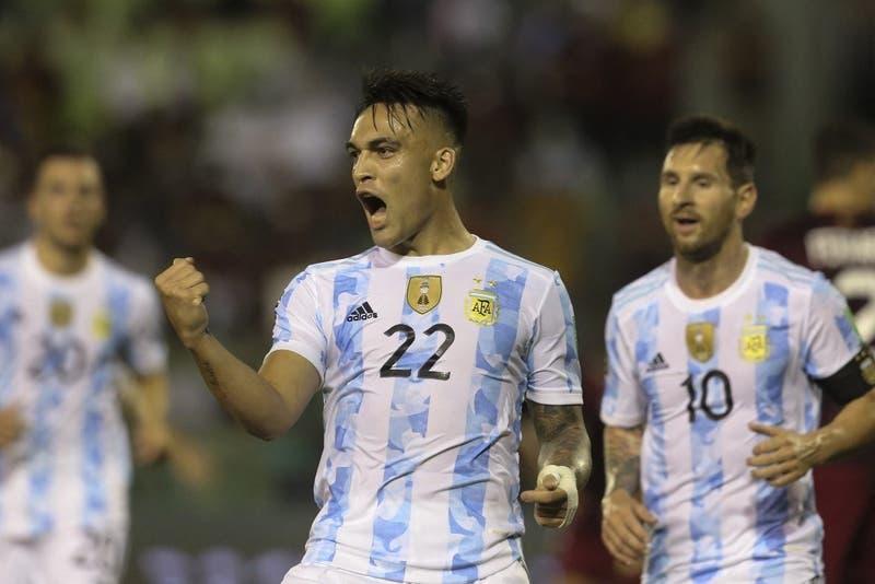 Argentina vence a Venezuela en Caracas y es sublíder de las Clasificatorias rumbo a Qatar 2022