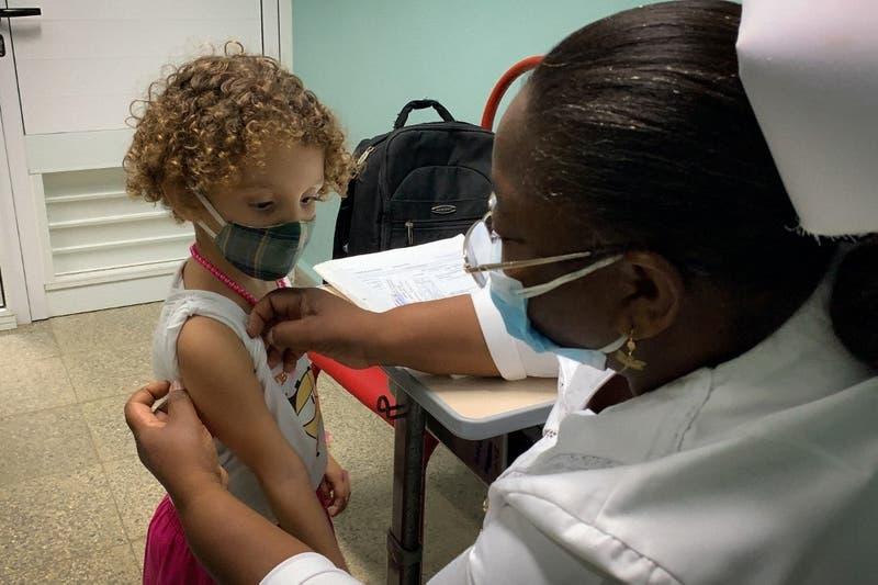 Cuba comienza vacunación contra el COVID-19 en niños y jóvenes de 2 a 18 años