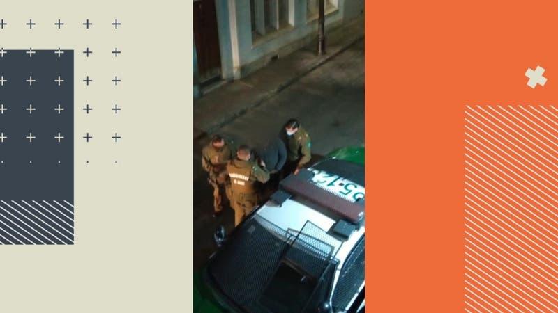 Hombre golpeó a su expareja e intentó escapar por los techos ante ayuda de vecinos