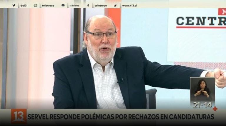 [VIDEO] Servel responde a polémicas por masivos rechazos en candidaturas