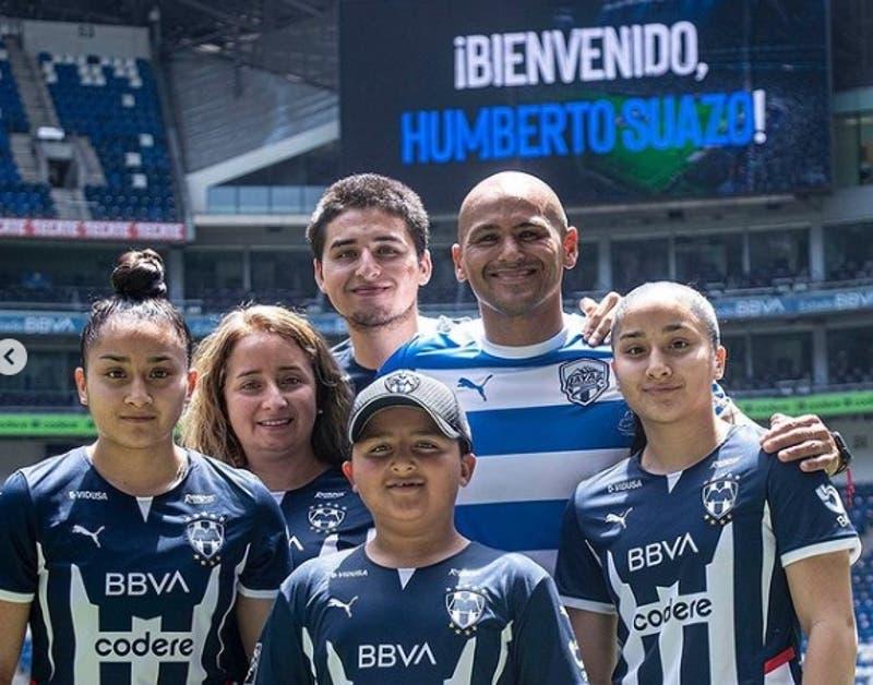Así fue la presentación de Humberto Suazo en Monterrey