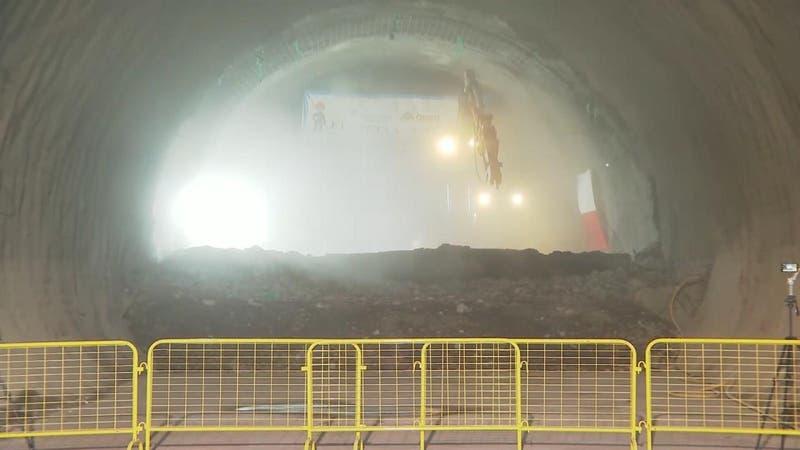 Extensión de Línea 3 del Metro lleva un 58% de avance