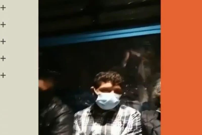 Minutos de terror: usuarios de teleférico quedan atrapados media hora durante terremoto en México