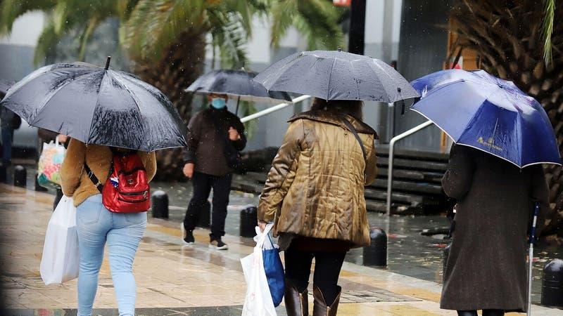 Pronostican lluvias para gran parte del país durante este fin de semana