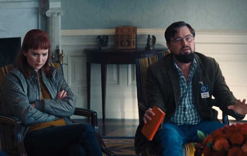 "Netflix lanza primer tráiler de ""Don't Look Up"" con Ariana Grande, Leo DiCaprio y Jennifer Lawrence"