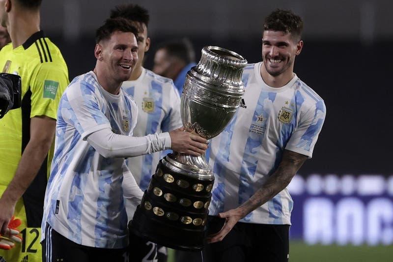 Con goleada y nuevo récord: el llanto de Messi en festejo de Argentina por título de Copa América