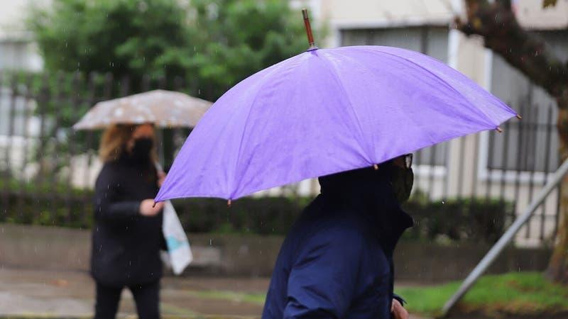 Lluvias regresan este fin de semana a la zona central