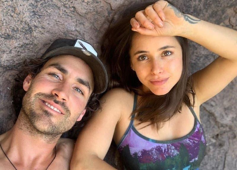 Las tiernas fotos de Juanita Ringeling y su pequeño hijo Aurelio: el bebé ya tiene más de dos meses
