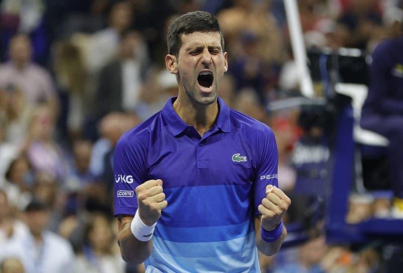 Djokovic avanza a la final del US Open y está a un triunfo de hacer historia