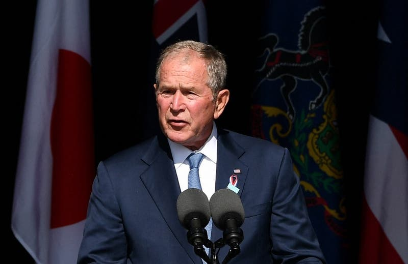Bush lamenta la desunión de EE.UU a 20 años de los atentados del 11 de Septiembre