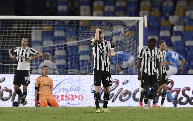 La Juve agrava su crisis: Pierde con el Napoli y solo lleva un punto en tres partidos