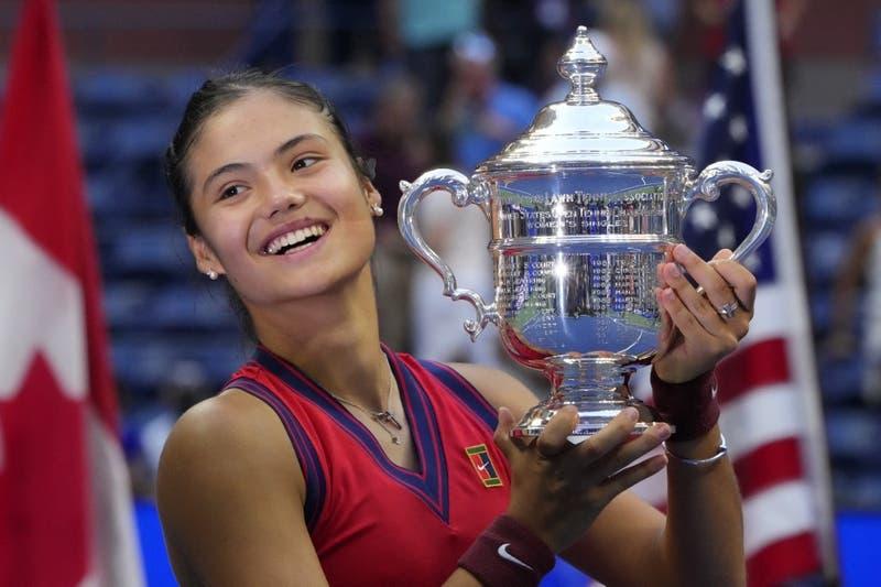 Emma Raducanu: La británica que ganó el US Open con 18 años, viniendo de la qualy y sin perder sets
