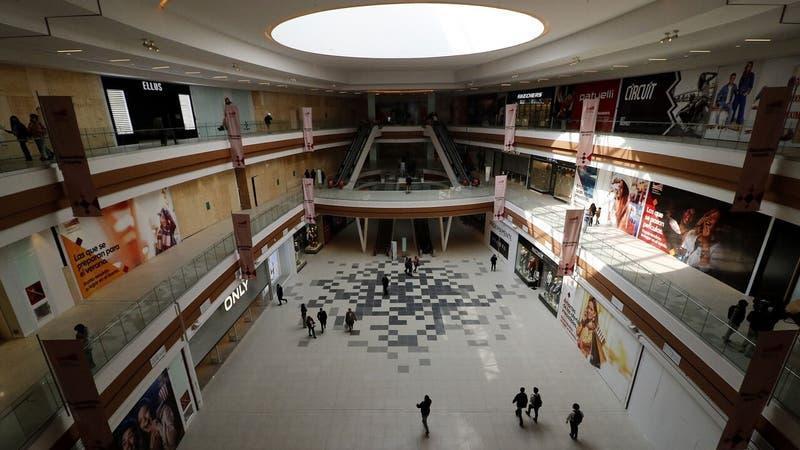 """Evacúan centro comercial de Independencia por presencia de """"artículo sospechoso"""""""