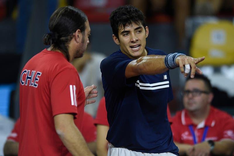 Cuándo juega Chile contra Eslovaquia por Copa Davis