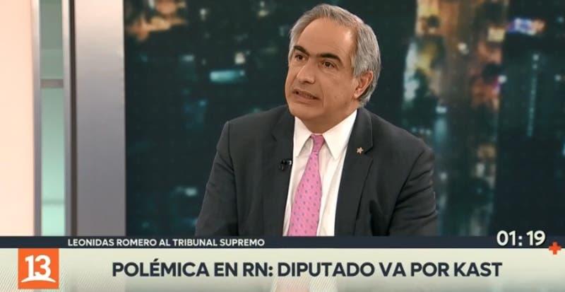 """Chahuán y quienes no apoyen a Sichel: """"No me va a temblar la mano para pasarlos al Tribunal Supremo"""""""