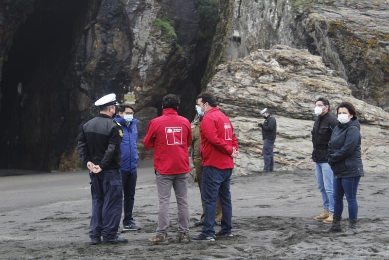 Confirman que zapatilla encontrada pertenece a uno de los desaparecidos en Cobquecura