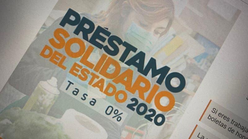 Préstamo Solidario 2020: Revisa a quiénes se les retendrá un porcentaje de boletas desde septiembre