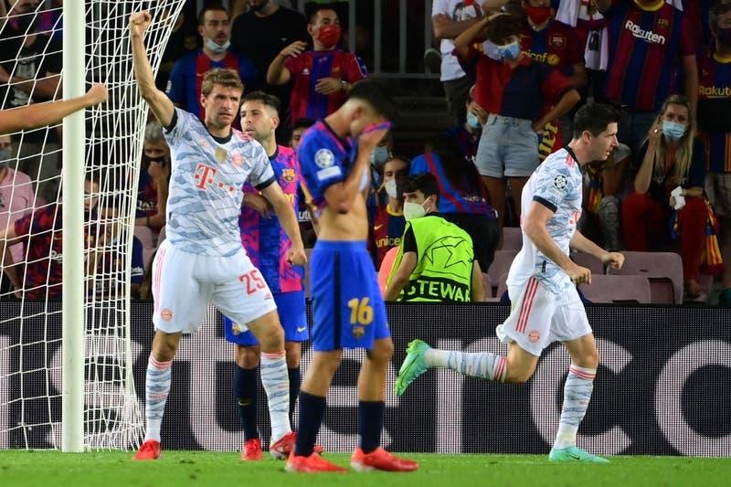 Bayern Múnich aplasta en el Camp Nou a un FC Barcelona que comienza la Champions sin Lionel Messi