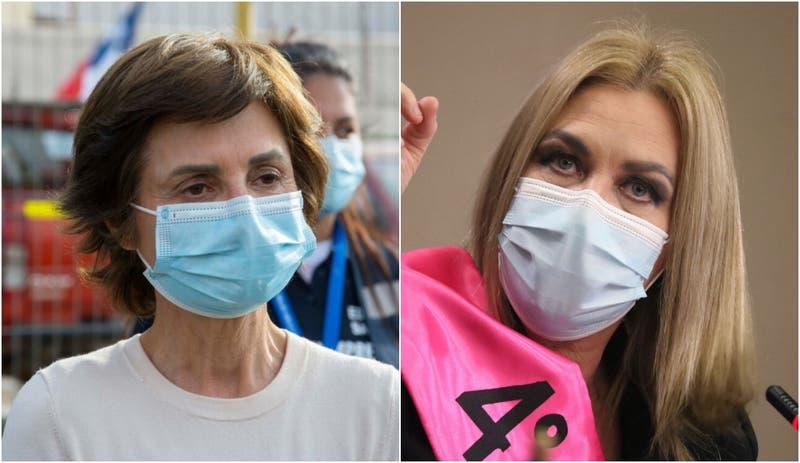 Paula Daza y Pamela Jiles lideran valoración positiva de personajes políticos en encuesta CEP
